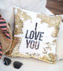 Sequins Pillow (Magic Cushion)