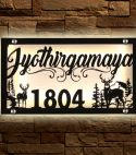 Reindeer LED Name Plate