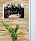 Khandelwals Metal Printed Name Plate – Personalised Home Decor Gifts Online