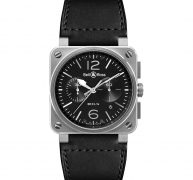 BELL AND ROSS – BR0394-BL-SI/SCA – Luxury Watches for Men Online