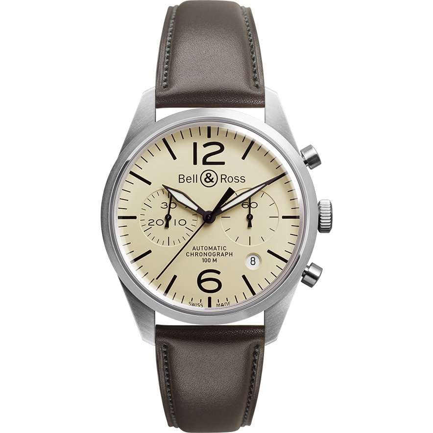 BELL AND ROSS – BRV126-BEI-ST/SCA – Luxury Watches for Men Online